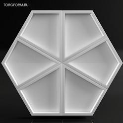 """Форма для 3D панелей """"eco-G1"""""""