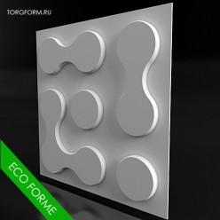 Набор форм для 3D панелей eco-K1