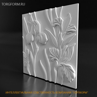 "Форма для 3D панелей ""Azaleas"""