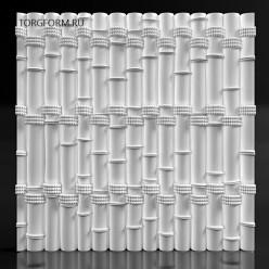 """Форма для 3D панелей """"Bamboo"""""""
