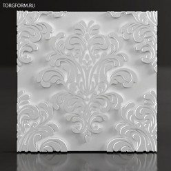 """Форма для 3D панелей  """"Baroque"""""""