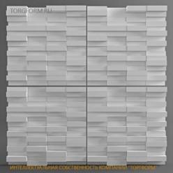 "Форма для 3D панелей ""Кирпич"""
