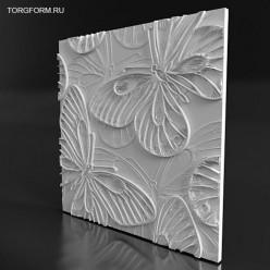 """Форма для 3D панелей """"Butterfly"""""""