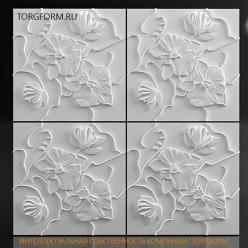 "Форма для 3D панелей ""Dew"""