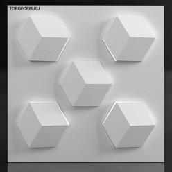 "Форма для 3D панелей ""Грани"""