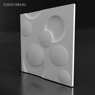 "Форма для 3D панелей  ""Mars"""