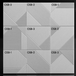 "Форма для 3D панелей ""OSB -2"""