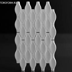 """Форма для 3D панелей """"Ovale"""""""