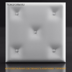 "Форма для 3D панелей ""Pillow-1"""