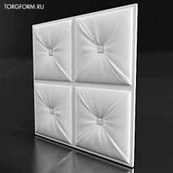 "Форма для 3D панелей ""Pillow-6"""