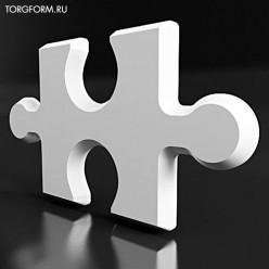 """Форма для 3D панелей """"Puzzle"""""""