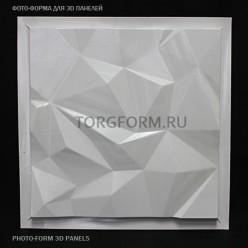 "Форма для 3D панелей ""Pyramid-1"""