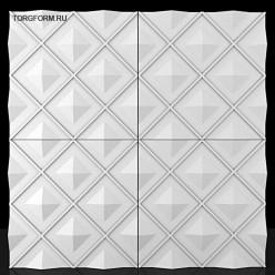 "Форма для 3D панелей""Rhombus"""