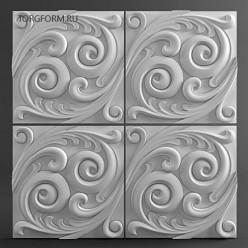 "Форма для 3D панелей ""Sea"""