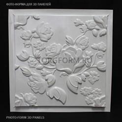 """Форма для 3D панелей  """"Spring"""""""