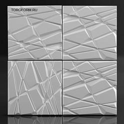 """Форма для 3D панелей """"Stahl"""""""