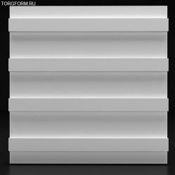 """Форма для 3D панелей """"Strips"""""""