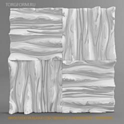 "Форма для 3D панелей ""Дерево"""