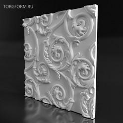 """Форма для 3D панелей  """"Twig"""""""