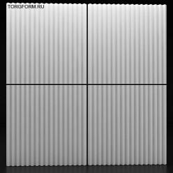"""Форма для 3D панелей """"Zigzag"""""""