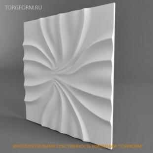 "Форма для 3D панелей ""Абелия"""