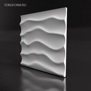 "Форма для 3D панелей ""Дюна"""