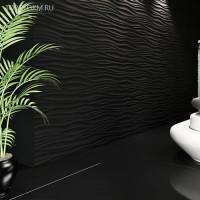 Создаем уникальный интерьер с помощью 3D панелей