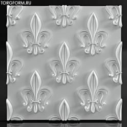 "Форма для 3D панелей ""lily"""