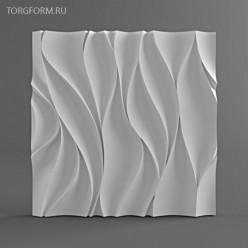 "Форма для 3D панелей ""Волна"""
