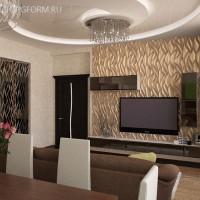 Декорирование помещения с помощью 3D-панелей