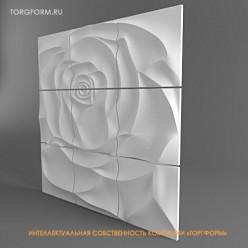 """формы для 3D панно """"Роза"""""""