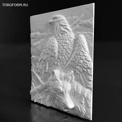 "Форма для барельефа ""Eagle"""