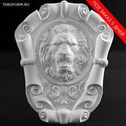 """Форма для барельефа """"Lion"""""""